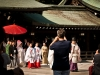 Wedding procession at the Meiji-Jingu Shrine